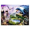 ジグソーパズル200 ドラゴンと戦う騎士: