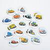ビークル・メモリー:車は全部で16種類。はたらく車が多いのもうれしい。