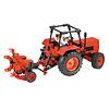 【送料無料アイテム】大型トラクターキット:ジャガイモ収穫機付きのトラクター