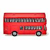 SK1321 2階建てバス: