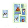 窓ふき職人:カードの裏面に正解が書いてあります。雪だるまでした。