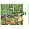 アミーゴバンデット:宝箱の描かれた赤いマスに道カードを置いたら妖精チームの勝ち。