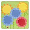 はじめてのゲーム 色と形:ボードの花畑の面