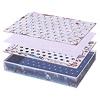 カヤナック:箱の上に、ボード大、A4の紙、ボード小と重ねます。