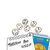 TUTTO(フォレ・ロッテ):めくったカードの条件を満たせば効果(この場合プラス600点)が得られます。