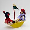 船のシーソー: