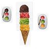アイスに夢中:注文カードと同じアイスの並びがあれば注文クリア