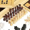 木製ゲームセット20:チェスコマ