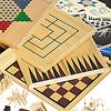木製ゲームセット20:ボード裏面