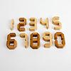 ナンバーパズル:0から9まで10ピース
