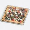 ピザとサラダ:ピザ