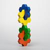 ハニーフラワー:2つの六角形がつながったハニーフラワーならではの形