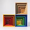 虹の箱・ブルー: