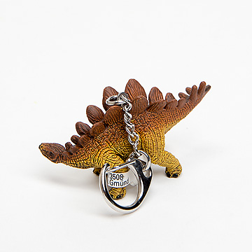 恐竜キーホルダーステゴサウルス