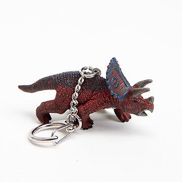 恐竜キーホルダートリケラトプス