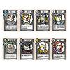 ラブレター:基本のカードは8種類。数字が大きい方が強い。