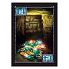 インカの黄金 新版 遺跡に眠るお宝争奪戦:お宝カードには数字の分だけ宝石があるのでプレーヤーで山分けします。