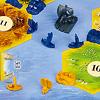 カタンの開拓者たち 拡張セット航海者版:船を海路に置いてつなげると航路になって、島に渡ることができる。