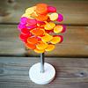ミニフィボナッチツリー オレンジ: