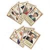 枯山水:作庭家カード。それぞれ異なる効果を持ち、1度だけ使うことができる。