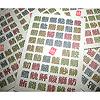 ととあわせ 日本津々浦々:札の背面は52種類の漢字がズラリ