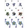ワードバスケット:カードには、文字カード(上段)、ワイルド文字数(中段)、ワイルドライン(下段)がある。