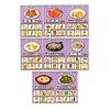 みんなのレシピ:メニューカードは8種類。それぞれに6つの具材が描かれています。