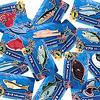 ギョっと:魚カードには1〜3の得点が示されている。