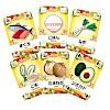 ハワイアンレシピ:メニューカードは8種類。それぞれに6つの具材が描かれています。