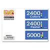 ベーシック2400カラーズ:ベーシック2400・5000共通作り方マニュアル。全40モデルの内31モデルが作れます。