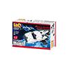 LaQ ハマクロンコンストラクター ミニ スペースシャトル:箱裏面