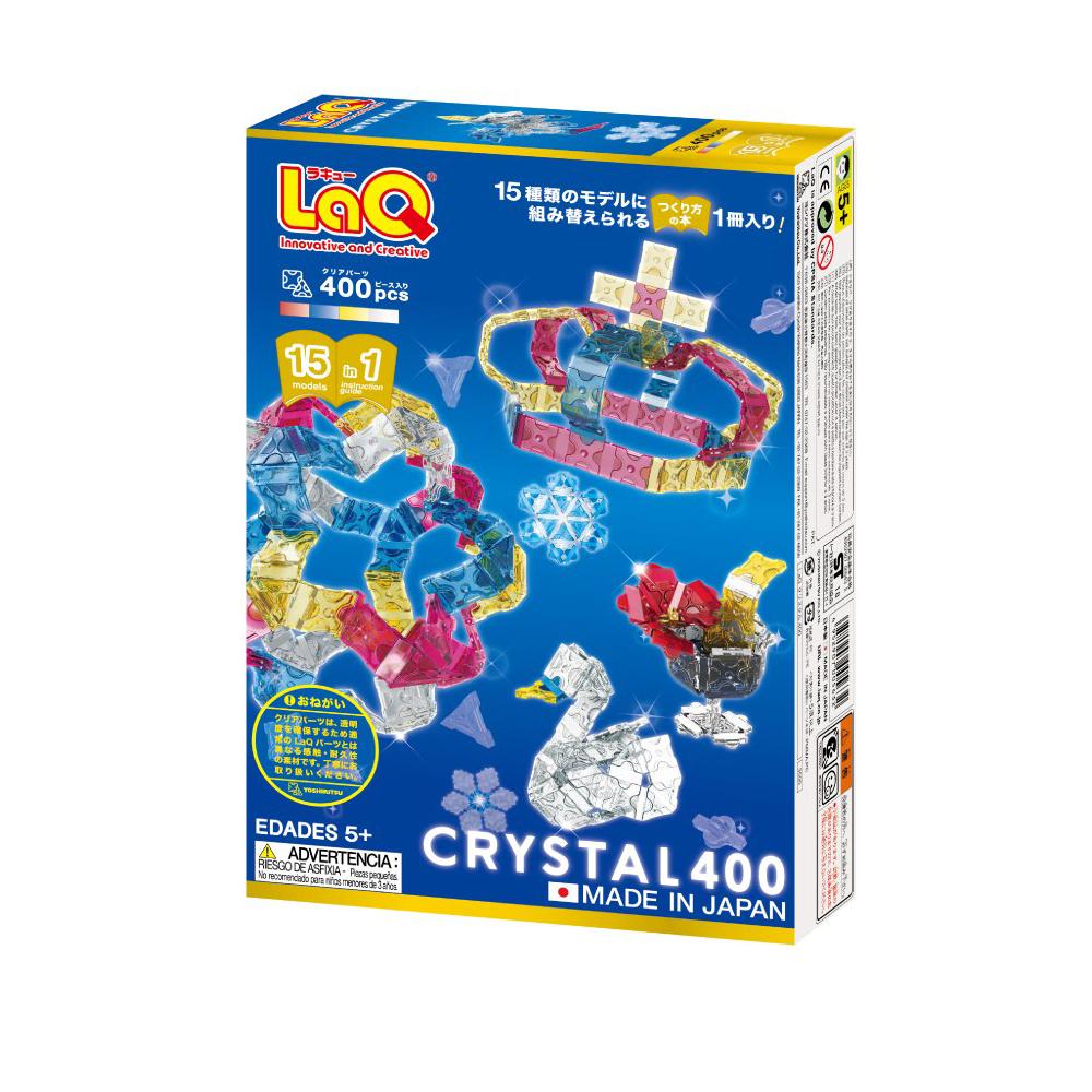 LaQ クリスタル 400: