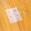 将棋盤6号:比較用:将棋盤・駒セットの蝶番は樹脂製