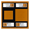 マスター囲碁:六路盤と九路盤が片面に