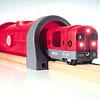 33513 メトロレールウェイセット:ロンドン地下鉄のチューブを思わせる丸い断面のトンネル