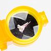オプティックワンダー 黄:観察トレイ。ルーペは2倍、底は鏡面。