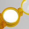 オプティックワンダー 黄:鏡面で信号を送ることも