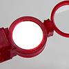 オプティックワンダー 赤:鏡面で信号を送ることも
