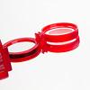オプティックワンダー 赤:さらに重ねて4倍に