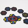 タントリックス ディスカバリ:4は赤い数字なので、1,2,3,4の4枚で赤い輪を作ります。
