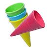 フックス・アイスコーン2個セット:コーンのバリエーション例