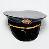警察官2点セット 青帽子:帽章のデザインは変更されています。