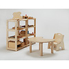 プレイスペース用椅子&机: