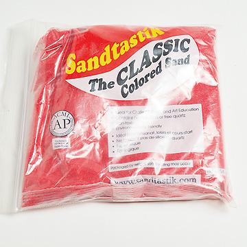 サンドセラピー用砂各色赤
