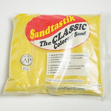 サンドセラピー用砂各色黄色