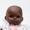 ソフトベビー・黒人ピンク:目の色が茶色