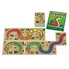 虹色のへび:色がつながるようにカードを並べます。虹色のしっぽと頭はオールマイティー。