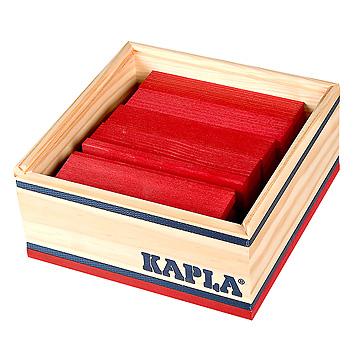 KAPLA®カラー40ルージュ(赤)