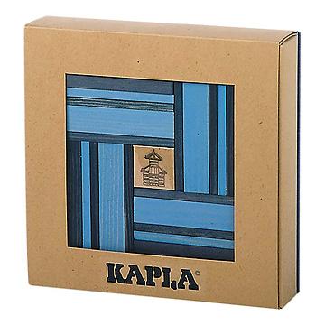 KAPLA®ブック付きカラー青セット