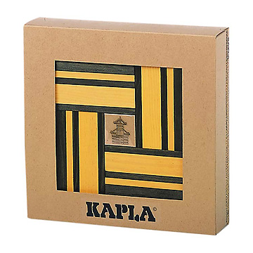 KAPLA®ブック付きカラー黄セット